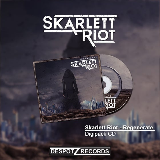 Image of Skarlett Riot - Regenerate (CD)
