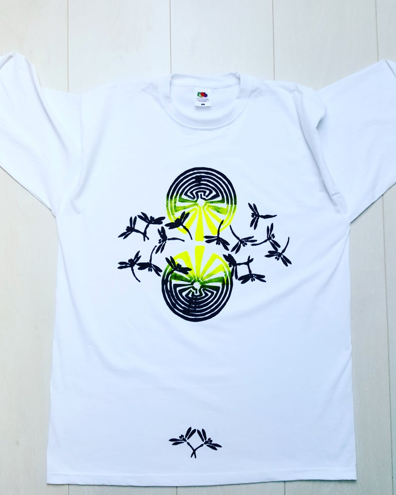 Image of Hand-painted Longsleeve: Dragonfly