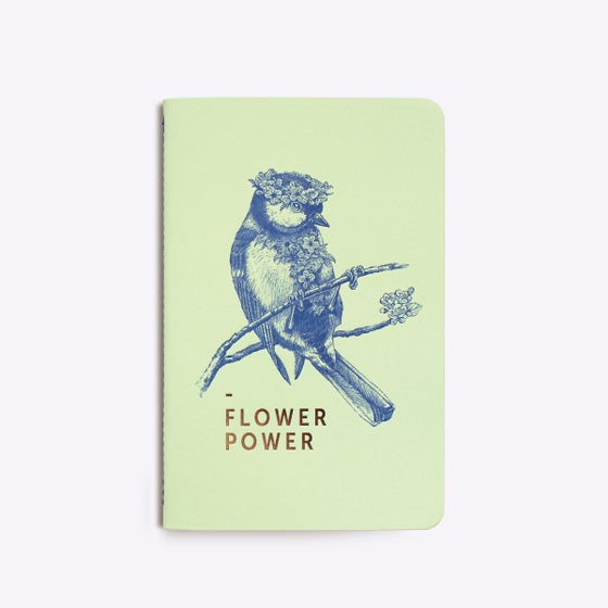"Image of CARNET COUSU ""FLOWER POWER"""