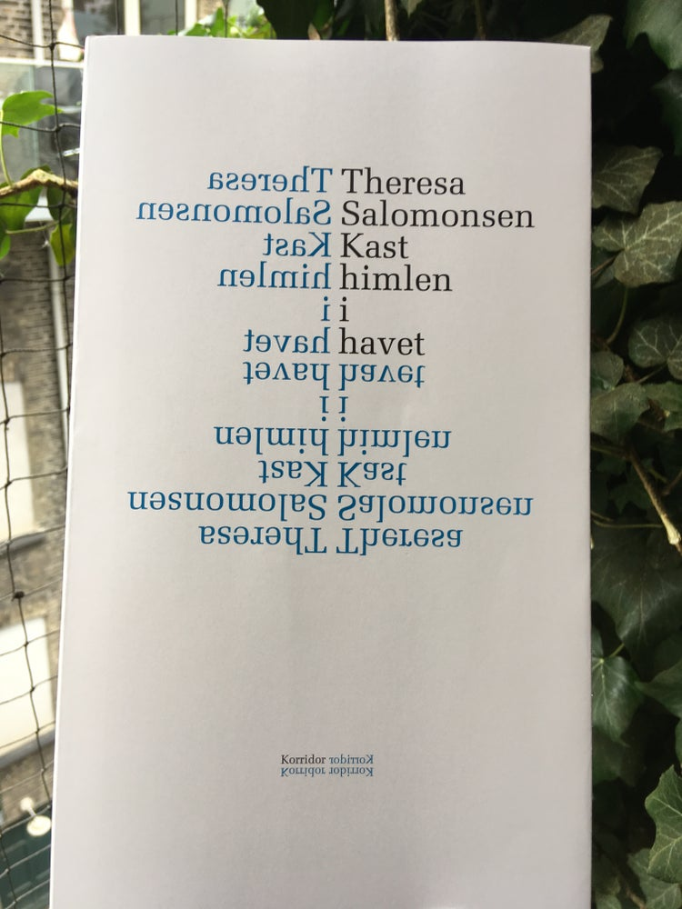 Image of Theresa Salomonsen - Kast himlen i havet