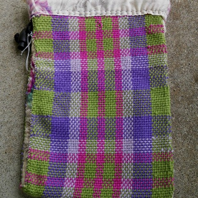 Image of Spring Stripe Plaid, gaming bag