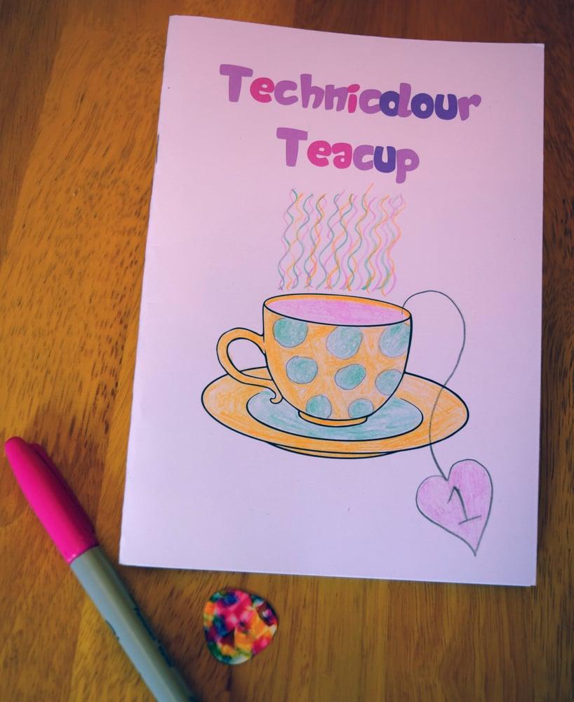 Image of Technicolour Teacup #1