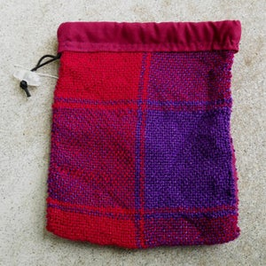 Image of Red and Purple Large Checkerboard, gaming bag