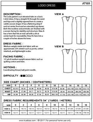 Image of LODO DRESS (PAPER)