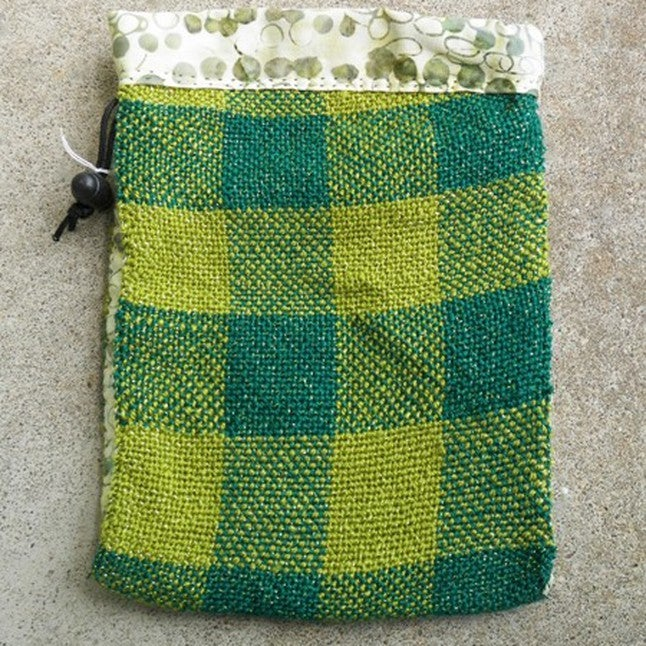 Image of Green Checkerboard, gaming bag