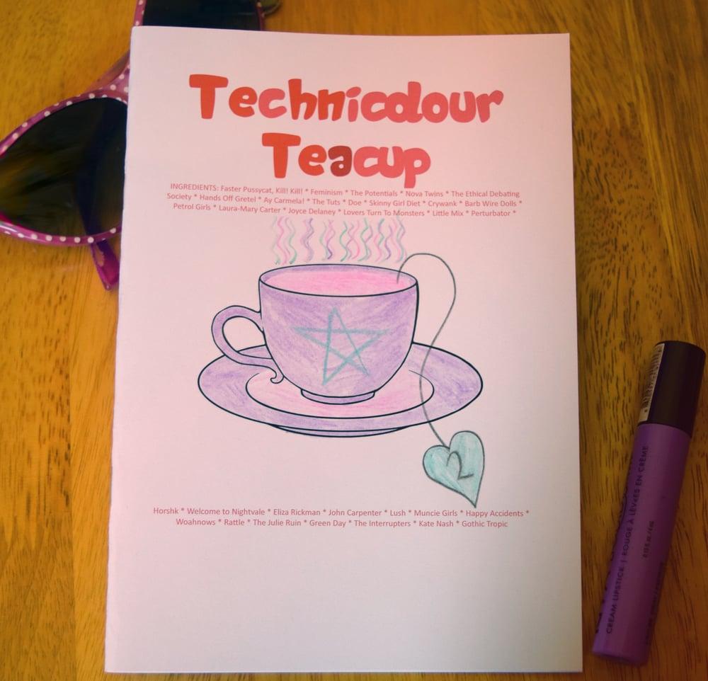 Image of Technicolour Teacup #2