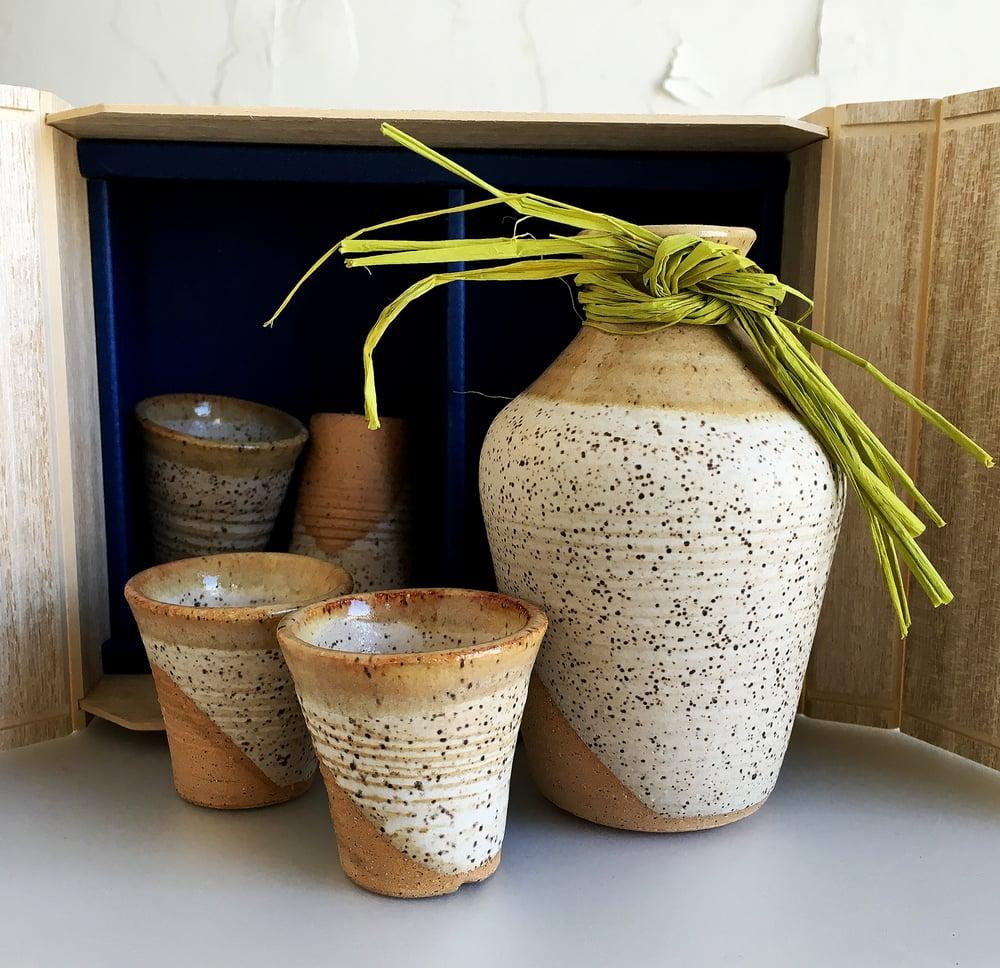 Image of Boxed Sake Set