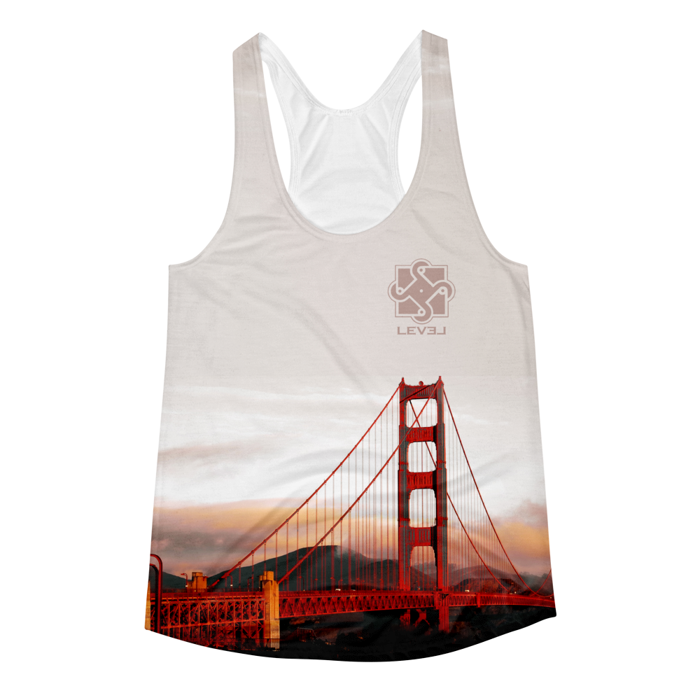 Image of Womens Golden Gate Racerback Tank