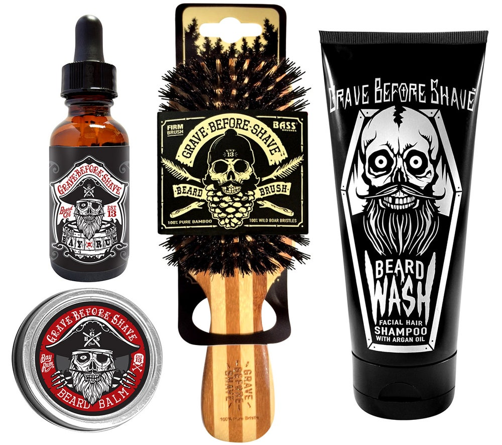 Image of Grave Before Shave™  Beard Care Pack