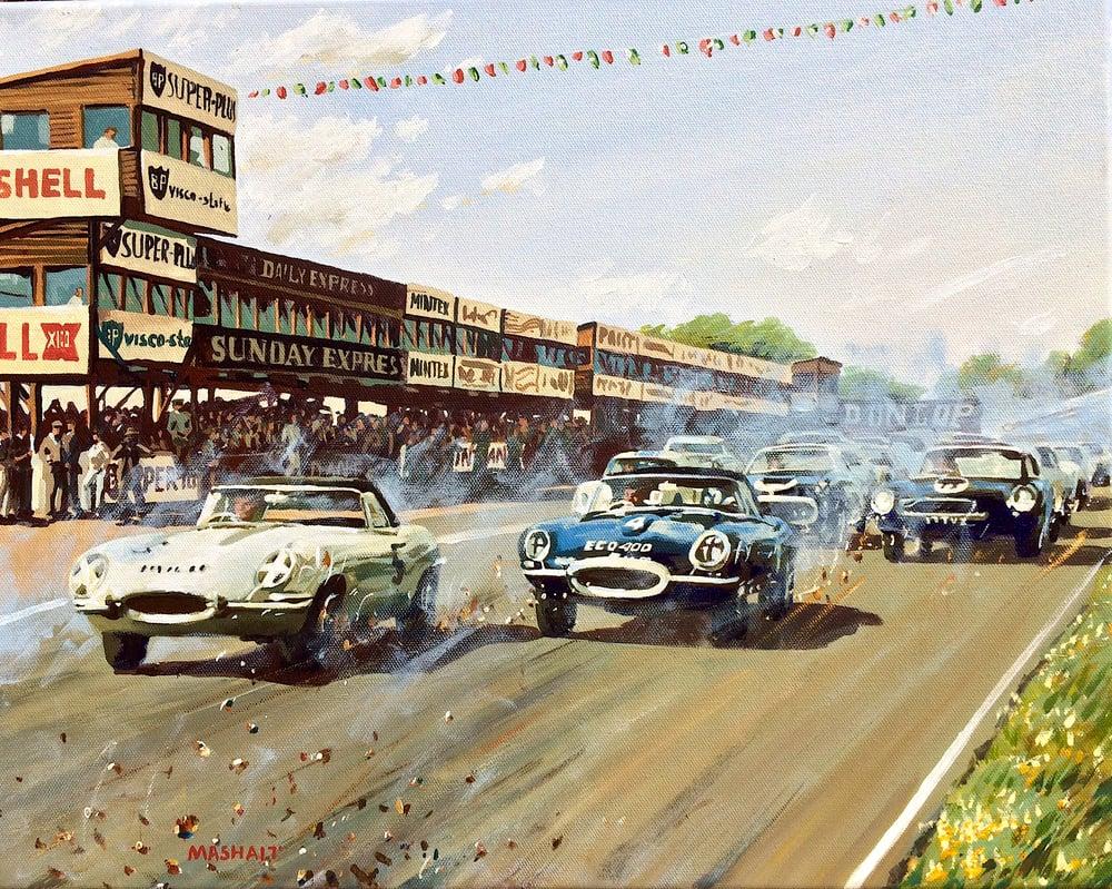Image of Jaguar E-type Epic Win