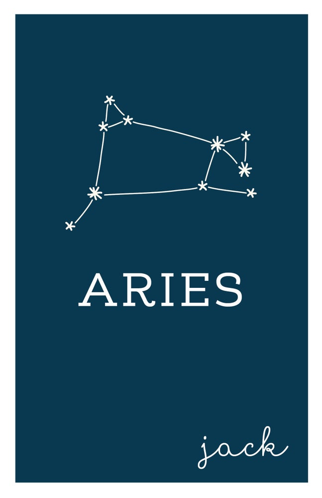 Image of Zodiac Constellation Prints
