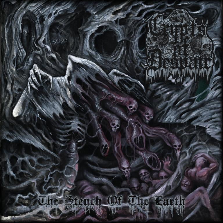 Image of ☩ Crypts Of Despair • The Stench Of The Earth (CD) ☩
