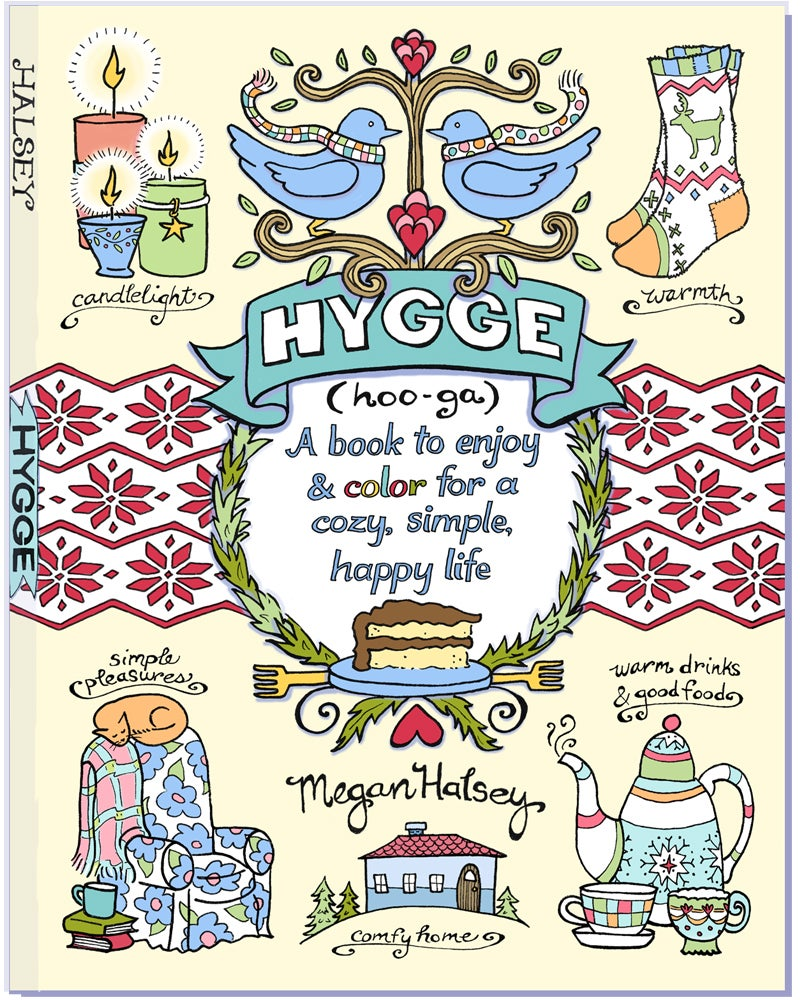 Image of Hygge- A Book to Enjoy & Color for a Cozy, Simple, Happy Life