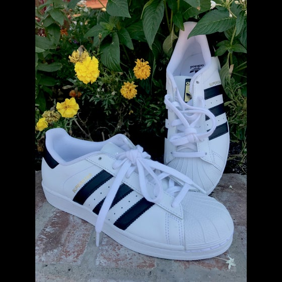 Image of Adidas Superstar Sneakers size 6.5