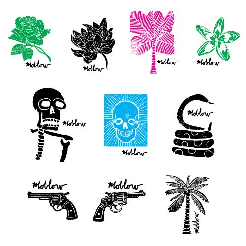 Image of moblow 10 sticker pack