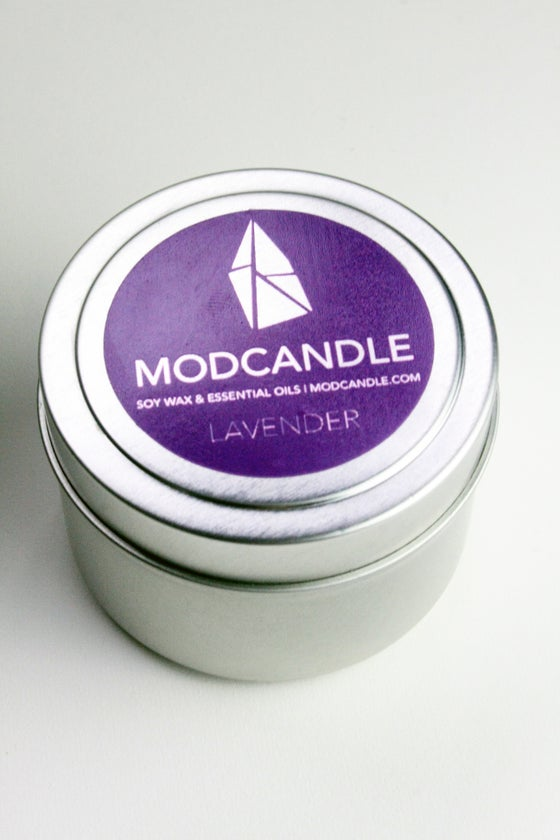 Image of Lavender Essential Oil Candle