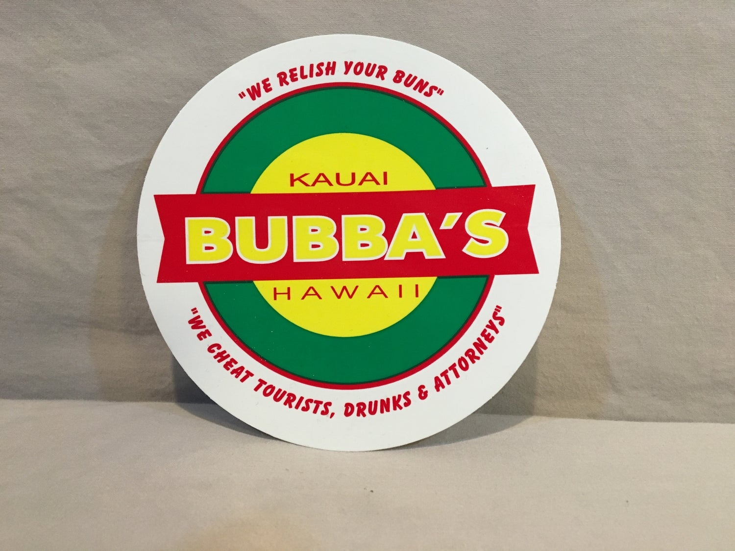 Image of Bubba's Decal