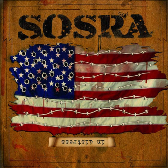 "Image of OFFICIAL - SOSRA - CD ""IN DESTRESS"""