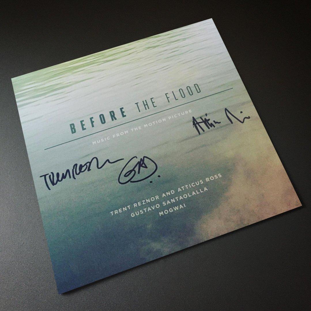Lakeshore Records Before The Flood Trent Reznor