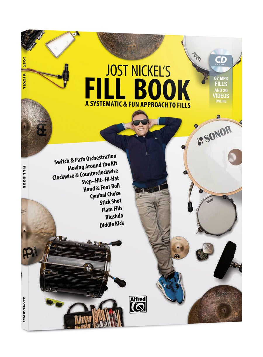 Image of Jost Nickel's FILL BOOK - ENGLISH (Signed Copy)