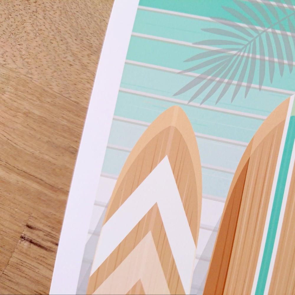 Image of Illustration limitée - SURF