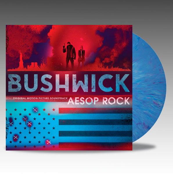 Image of Bushwick (Original Motion Picture Soundtrack) 'Blue Marble' Vinyl - Aesop Rock