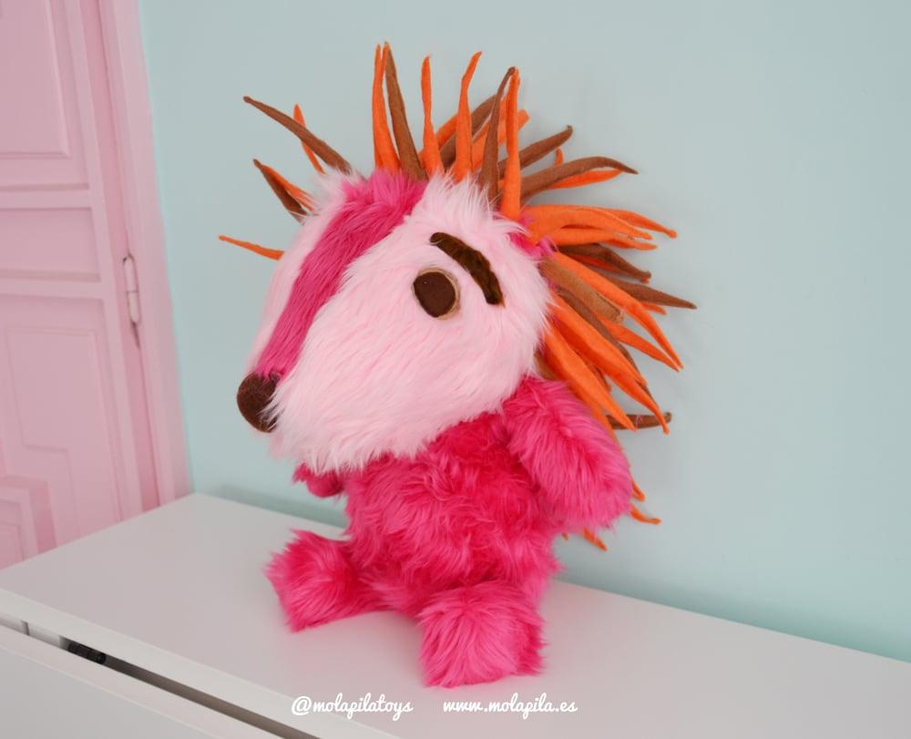 Image of Cute Espinete. Plush toy.