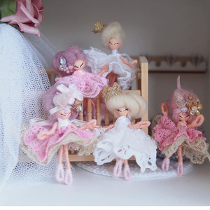 Image of Custom bespoke teeny tiny dollhouse dolls - made to order