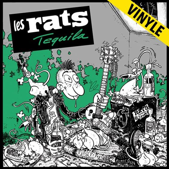 """LES RATS """"Tequila"""" LP réédition 2016"""