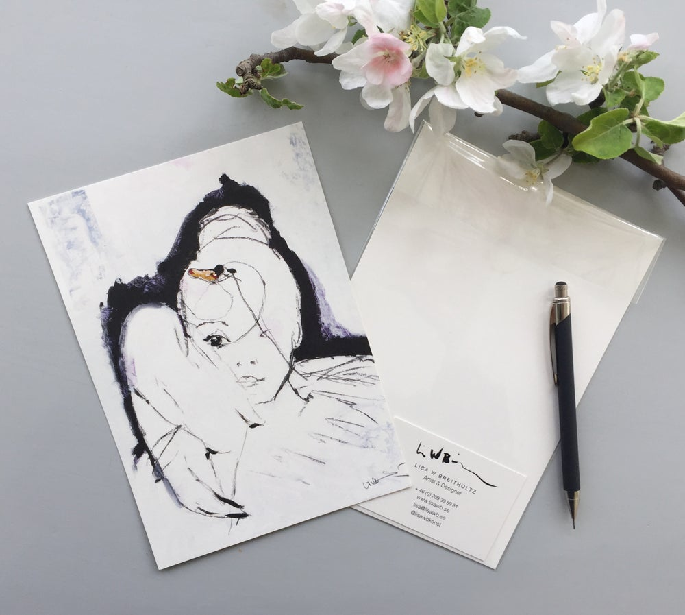 Image of A5/A4/A3 Print # Swan - 100KR/250KR/500KR