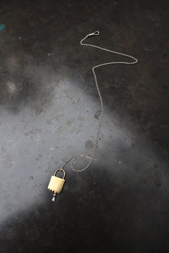 Image of UDDER BAG NECKLACE