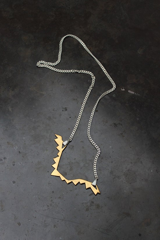 Image of ZIG ZAG NECKLACE