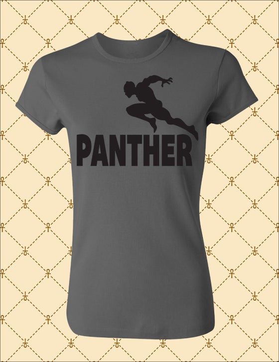 Image of WOMEN'S BLK PANTHER LIMITED EDITION TSHIRT