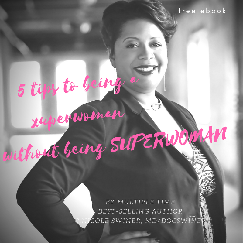 Image of My E-book, 5 tips to being a super woman without being SUPERWOMAN