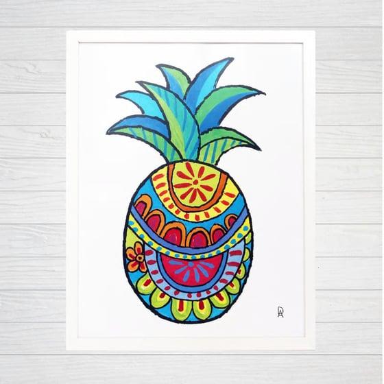 Image of Pineapple 1 Art Print