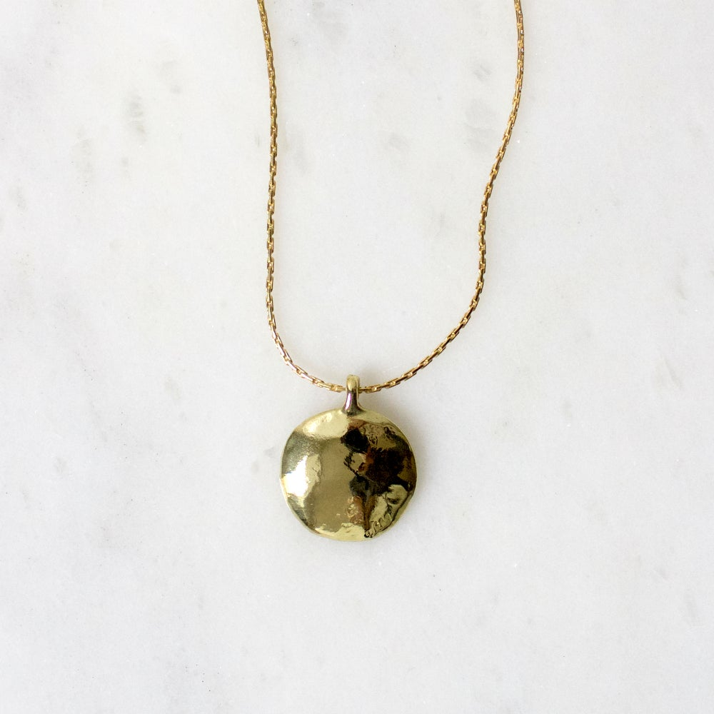 Image of Full Moon Pendant Necklace