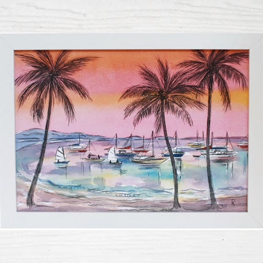 Image of Airlie Beach Art Print