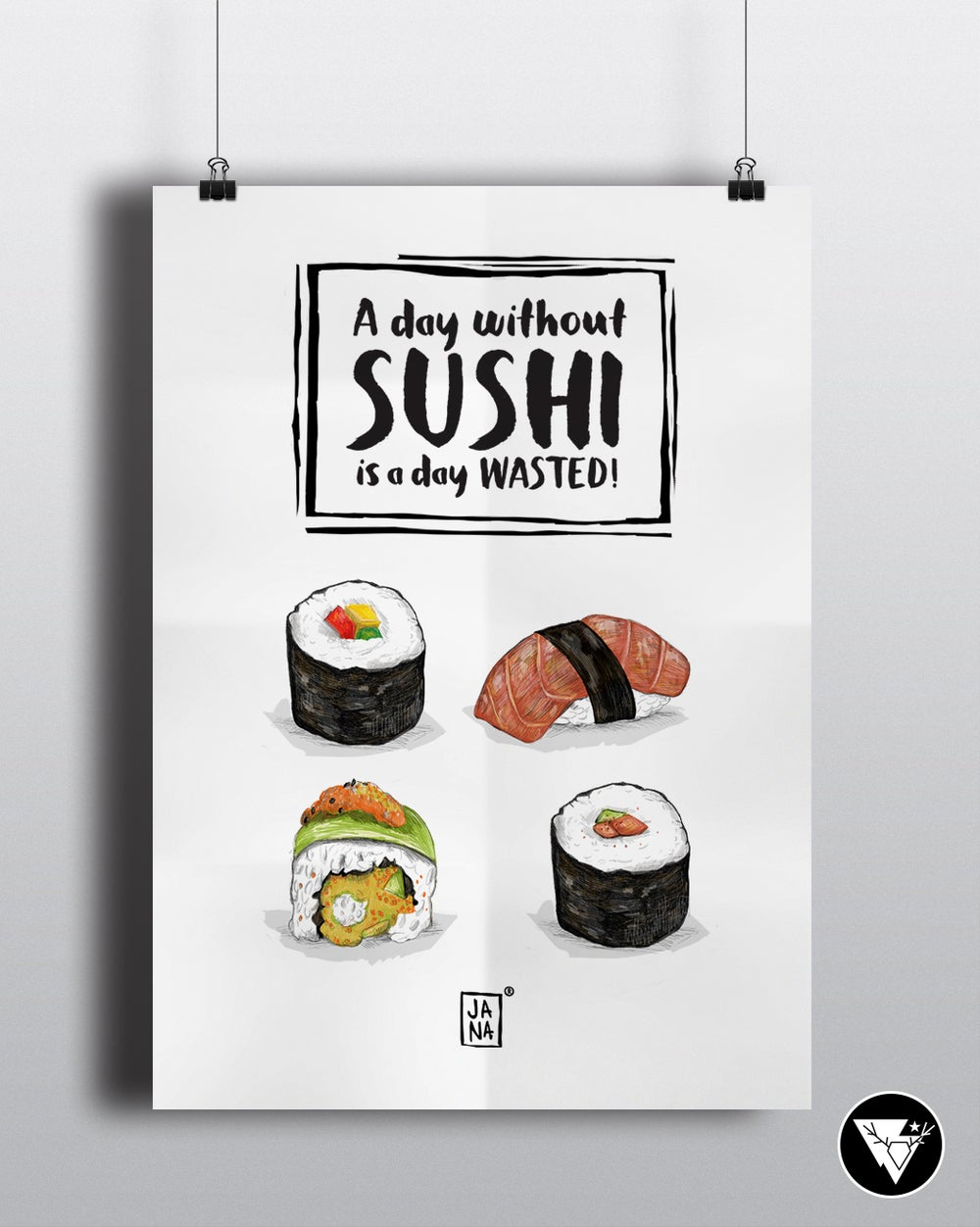 Image of Sushi /art print