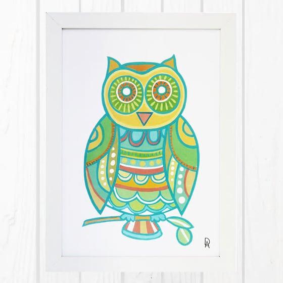 Image of Owl Art Print