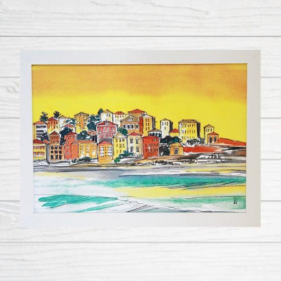 Image of Sunset Over Bondi Ben Buckler Art Print