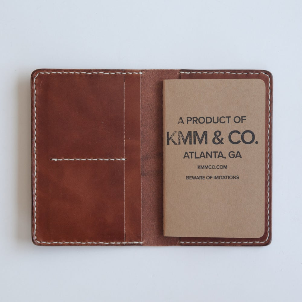 Image of Buck Brown Notebook Wallet