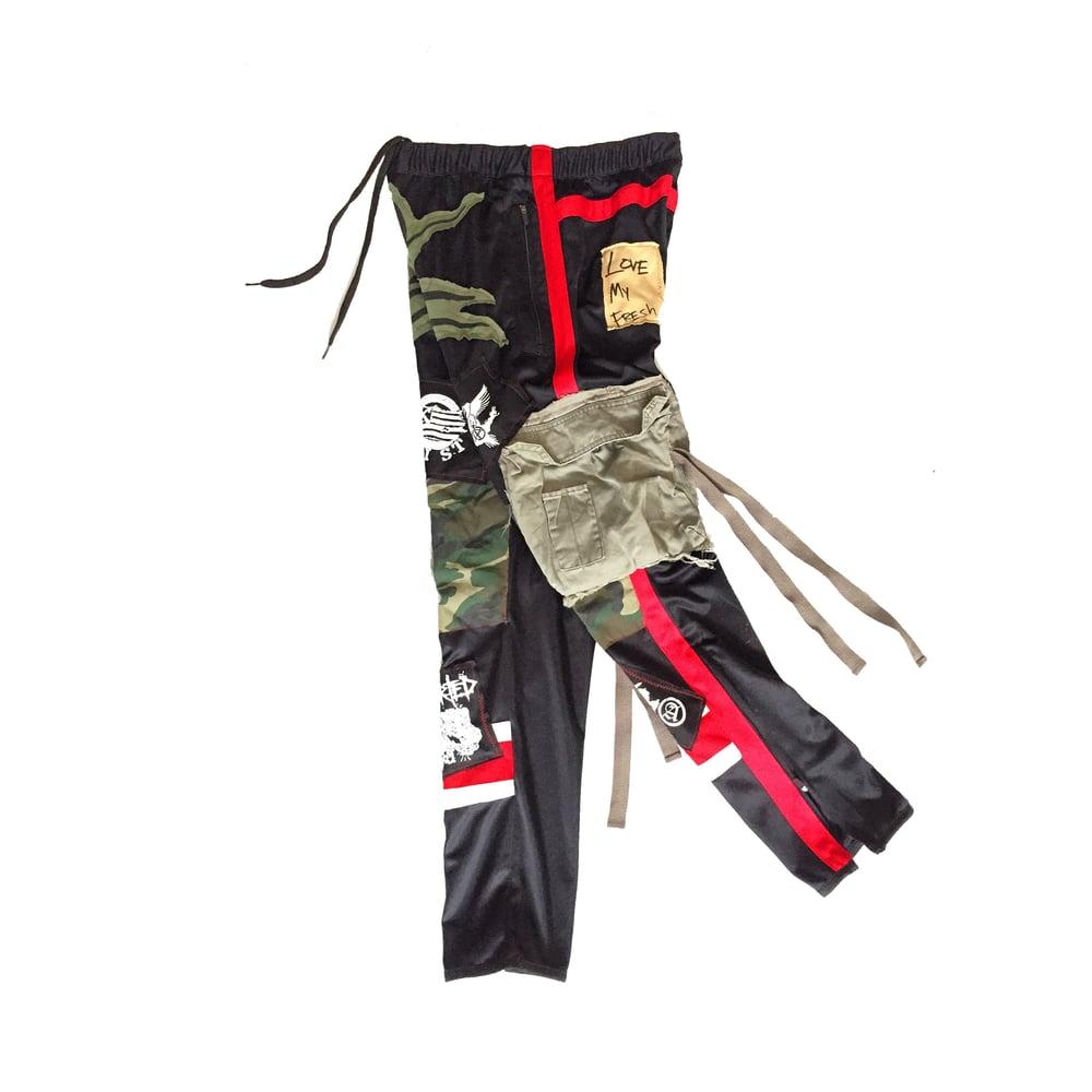Image of LMF Track Pants (Black)