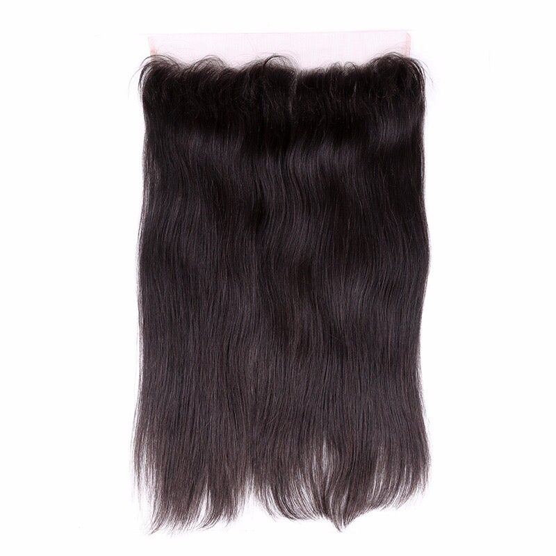 Image of indian straight closure/frontal/360 frontal