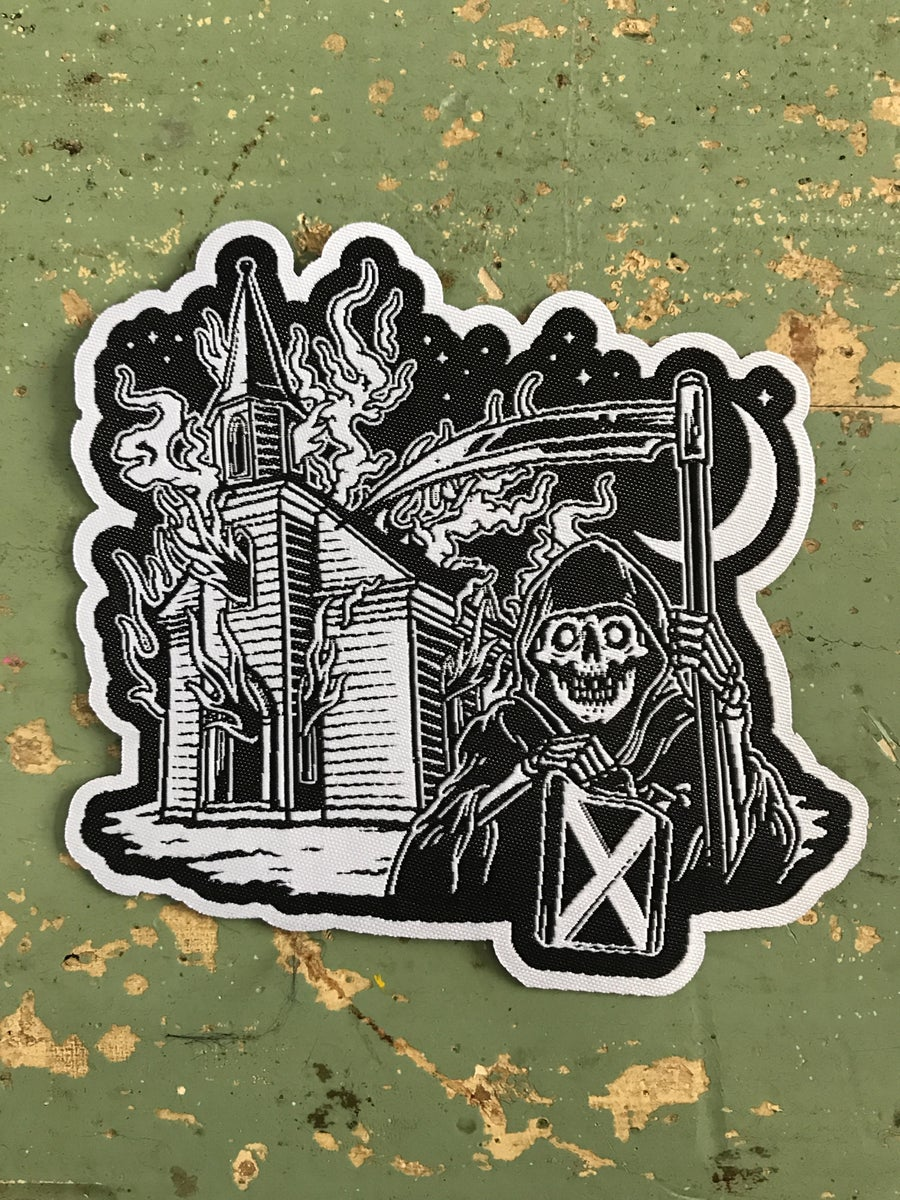Image of Burn The Midnight Oil Patch