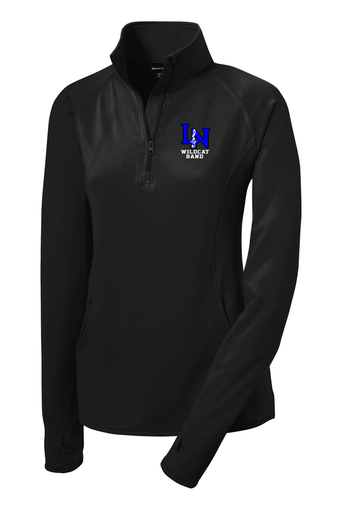 Image of Embroidered Womans 1/4 Zip Sportwick Pullover