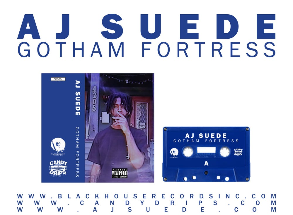 Image of AJ SUEDE: GOTHAM FORTRESS - CASSETTE TAPE
