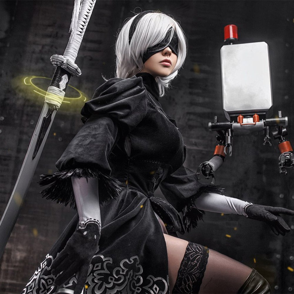 Image of FENIX.FATALIST SIGNED POSTER/PRINT - 2 b #1 NIER AUTOMATA IN STOCK