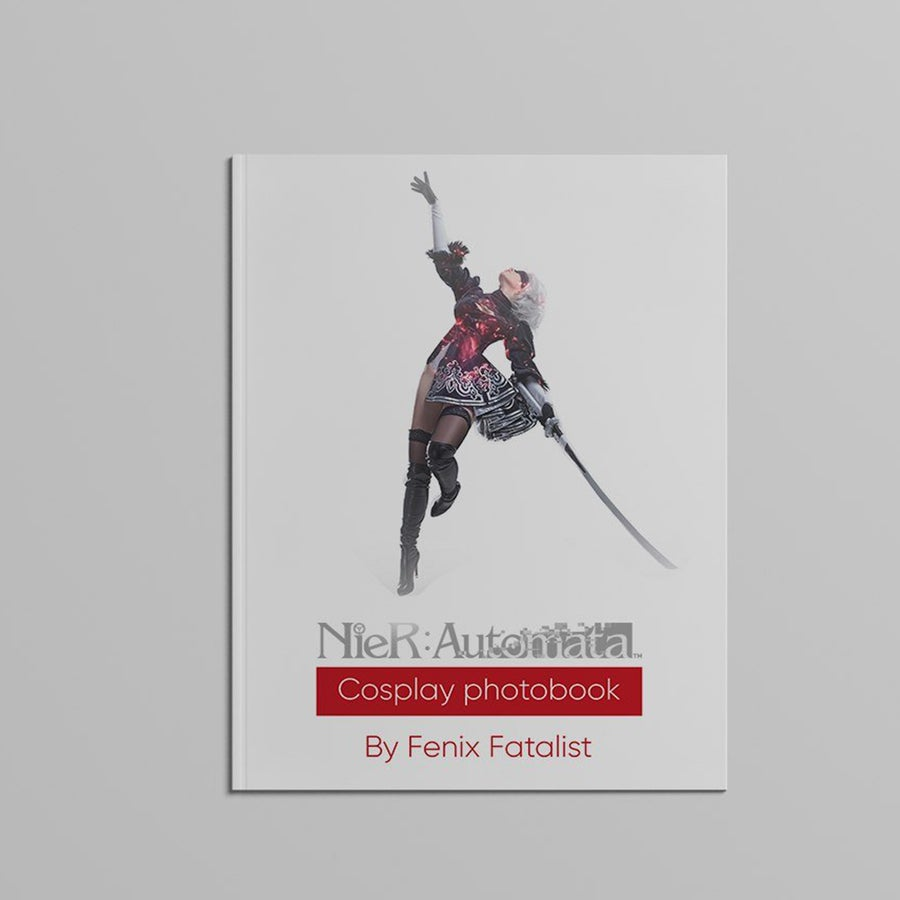 Image of [Limited] Nier Automata - Cosplay Photobook Signed