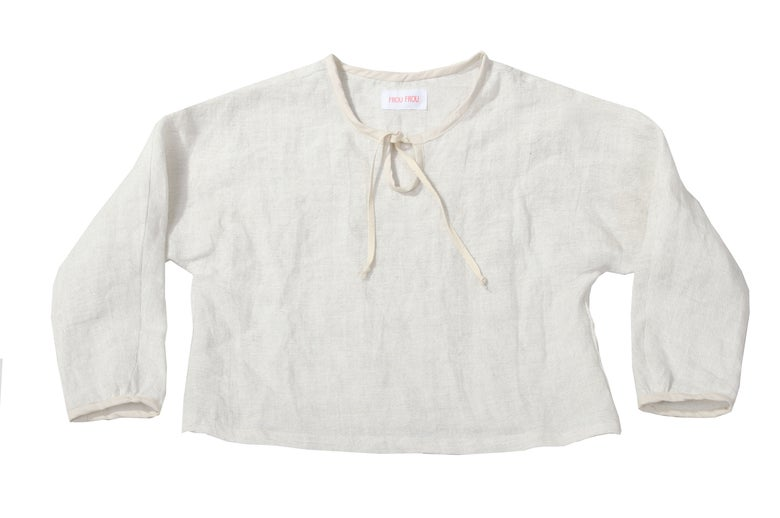 Image of basic linen shirt KOBE