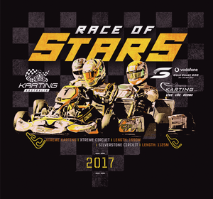 Image of 2017 Race of Stars T-shirt